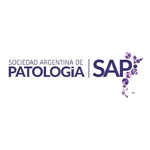 Logotipo de Sociedad Argentina de Patología