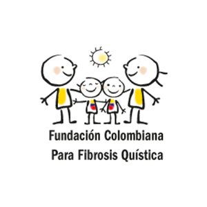 Logotipo de la Fundación Colombiana para la Fibrosis Quística