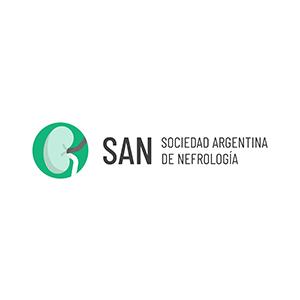 Logotipo de Sociedad Argentina de Nefrología